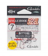 [gamakatsu]싱글 훅 52BL #7 블랙 (45..