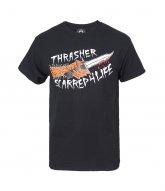 [THRASHER]SCARRED T-SHIR..