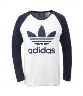 [adidas]TREFOIL LS TEE (AY7804)