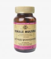 [Solgar]여성용 멀티비타민 2060mg x..
