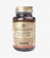 [Solgar]마그네슘 위드 비타민B6 550m..