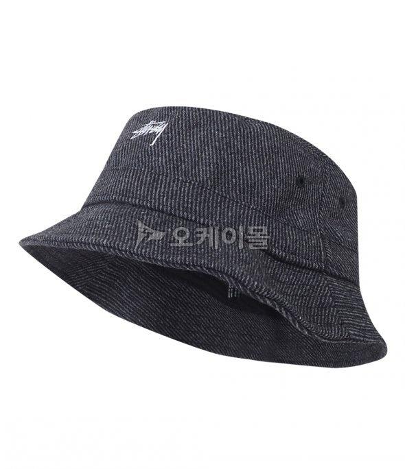 b76a32db27a  STUSSY TEXTURED WOOL BUCKET HAT (132843-BLACK) (텍스쳐드 울 버킷 햇)