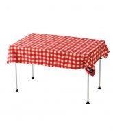 [Coleman]테이블 클로스 (RED CHECK)..