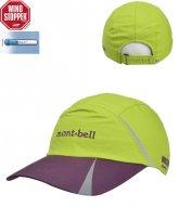 [mont-bell]윈드 프린트캡 Lime (ML5O..